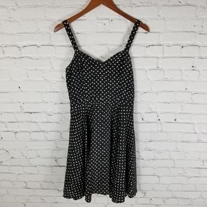 Anthropologie Maeve halter fit and flare dress